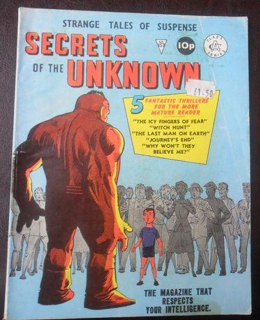 Secrets of the Unknown #157 [Alan Class] Ditko/Stan Lee [c/ portes]