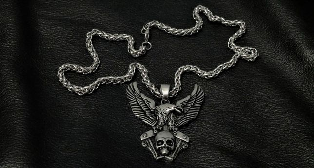 Zamienię Moto ozdoby Wiking Rock Gotyk na Assassin's Creed: Valhalla