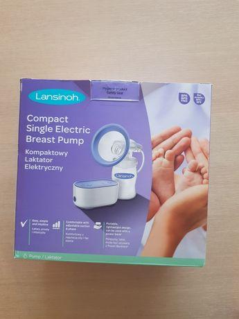 Laktator elektryczny Lansinoh gratis kolektor jak nowy