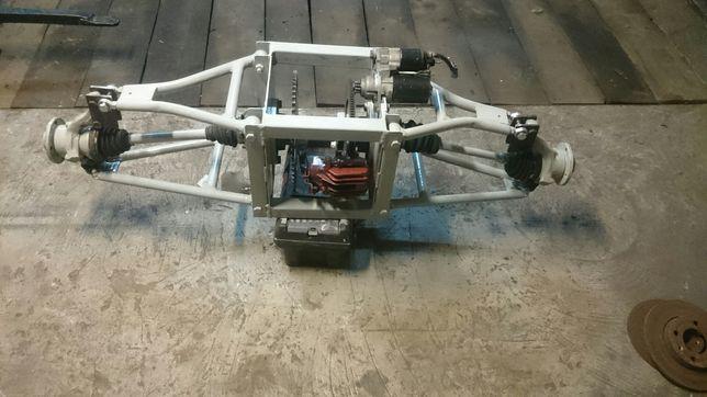 Skrzynka napędowa buggy, quad, wsteczny elektryczny