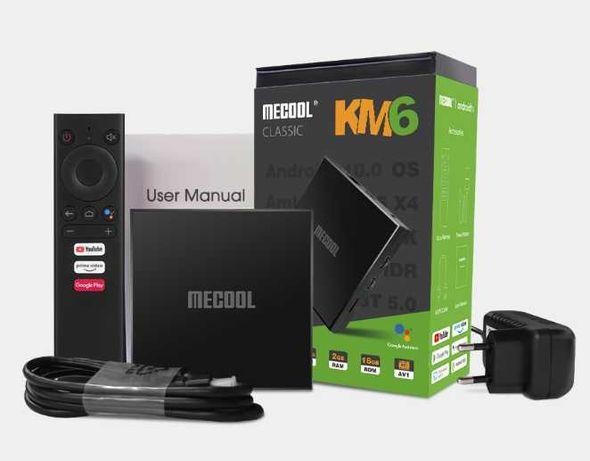 Смарт ТВ Mecool KM6 Classic TV Box Smart Amlogic S905X4 2/16Gb