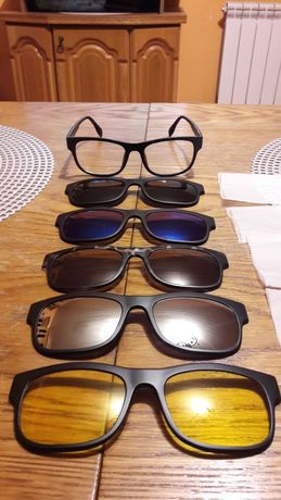 Okulary przeciwsłoneczne zerówki magnetyczne na magnes