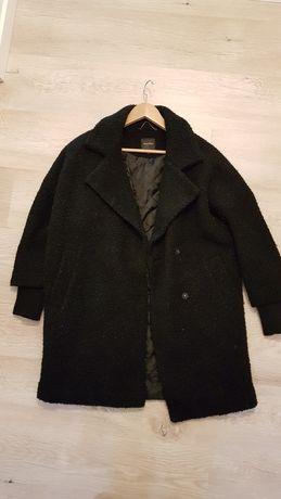 Modny płaszcz oversize wełna Reserved 34 XS S !