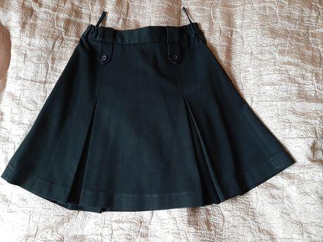 Школьная юбка чёрная Milana 128 р