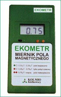 Tester pola magnetycznego pól indukcji magnetycznej miernik smogu