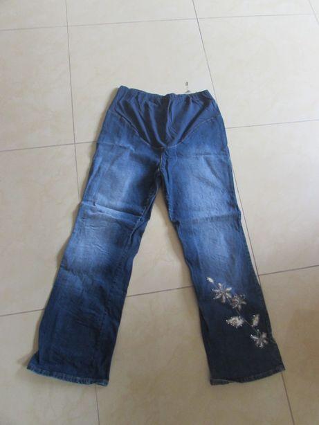 spodnie ciążowe jeansowe marki NEXT maternity UK 14 rozm 42