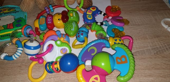 Zabawki grzechotki
