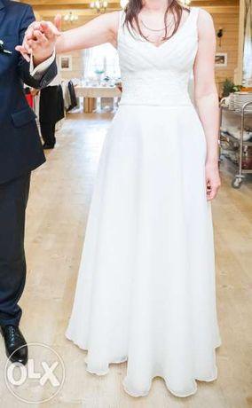 Suknia ślubna Gala, rozmiar 38, ivory, linia A
