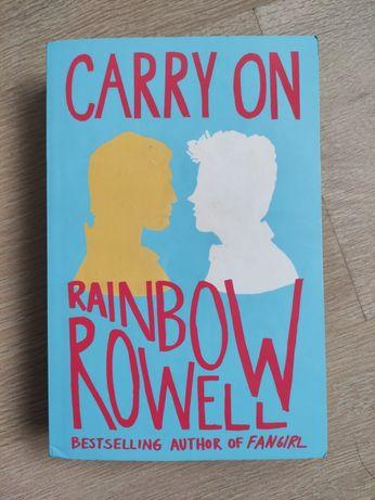 "Książka po angielsku ""Carry on"" Rainbow Rowell"