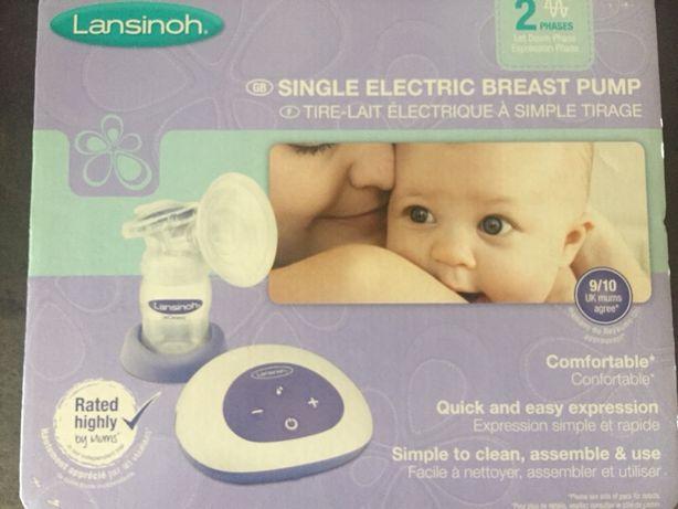 Супер крутой электрический молокоотсос Lansinoh