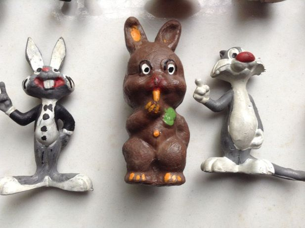 Muppet Show - stare gumowe figurki PRL