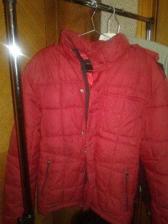 Куртка зимова підліткова червона