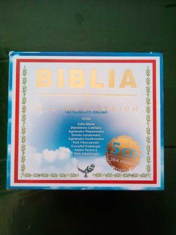 Biblia dla wszystkich 5 CD