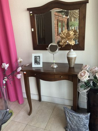 Toaletka/biurko drewniane