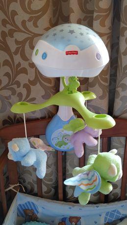 Мобиль Fisher price Сон бабочки с проектором