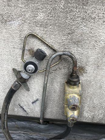 Regulador de gas para caravana