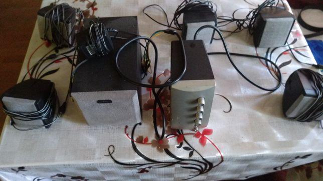 Głośniki komputerowe 5.1 media tech