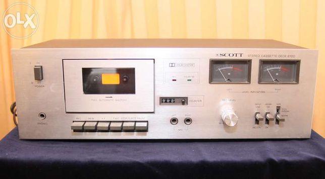 Deck de Cassetes Scott 610D