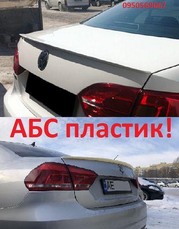 АБС пластик СПОЙЛЕР Passat B7 B8 USA Jetta 6 пассат Б джетта