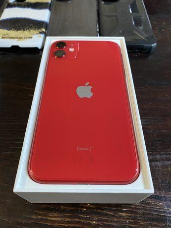 iPhone 11 64GB Product RED Czerwony Gwarancja