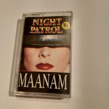 Maanam Night patrol kaseta