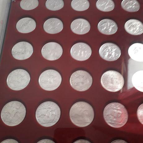 Set de moedas em prata