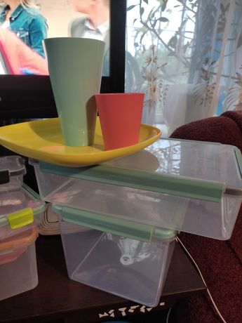 Продам судочки  пластикові