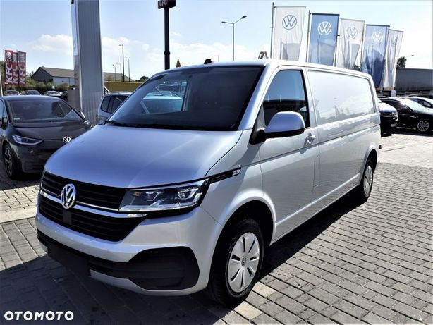 Volkswagen Transporter Transporter 6.1 Furgon silnik: 2,0 l TDI EU6 SCR BlueMotion Technology 110 kW skrzynia biegów: 7-biegowa DSG rozstaw osi: 3400 mm  VW Transporter Furgon L2 - Automat - 2.0 TDI - W TYM ROKU