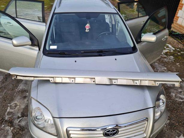 Listwa progowa prawa i lewa Toyota Avensis T25 kolor 1C0, kombi, 2004.