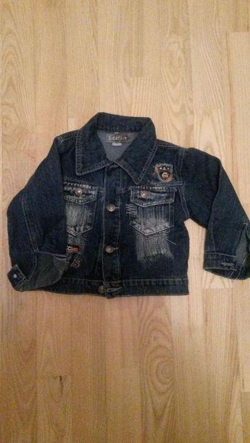 kurtka jeansowa dla chłopca r.98