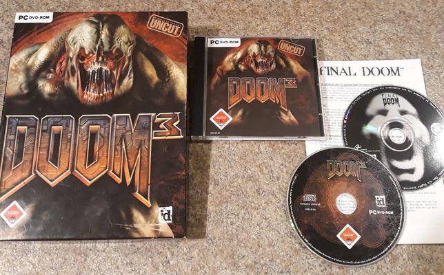 DOOM 3 Big Box + Final Doom PC