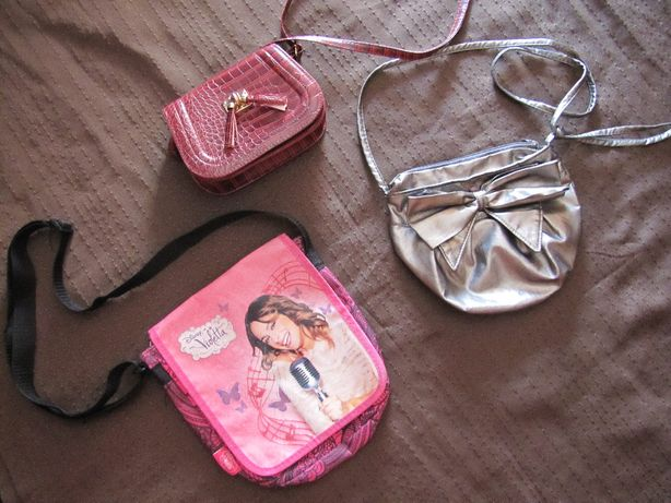Torebka torebki dla dziewczynki - zestaw 3 szt.