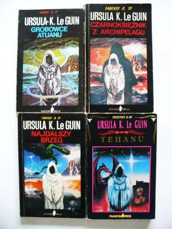 Ursula Le Guin x 4 Czarnoksiężnik, Grobowce, Najdalszy Brzeg, Tehanu