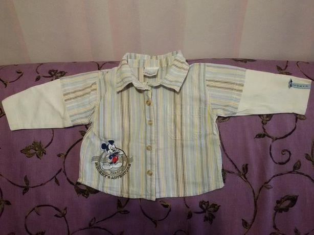 Рубашка 6 -9 месяцев disney