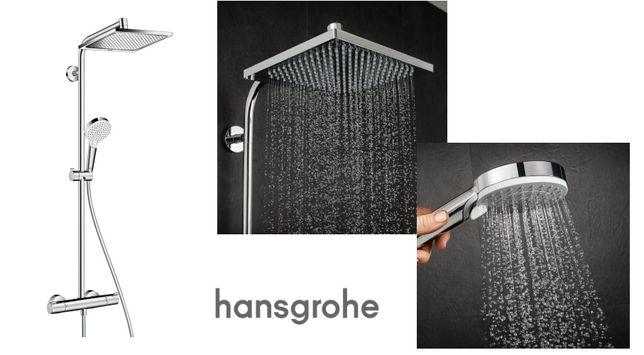 Душевая система Hansgrohe Crometta E 240 27271000 c термостатом