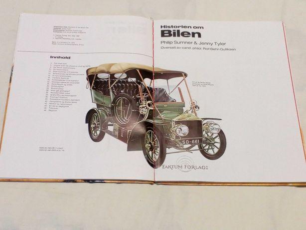 книга  Історія  машин  -Historien om Bilen 1984 р.