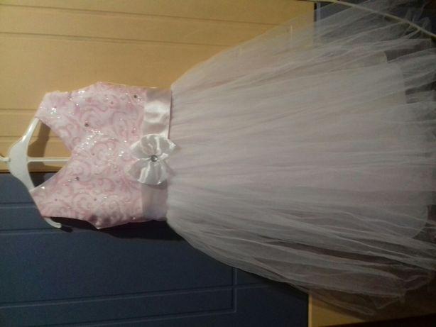 Бальное детское платье 5-8лет