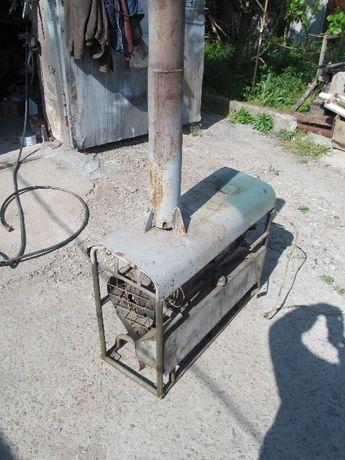 Печь отопительная на дизельном топливе.