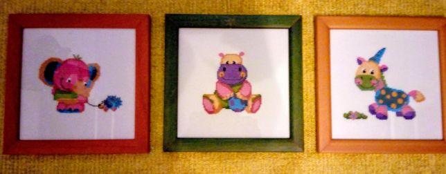 Quadros decorativos - quarto bebé /criança