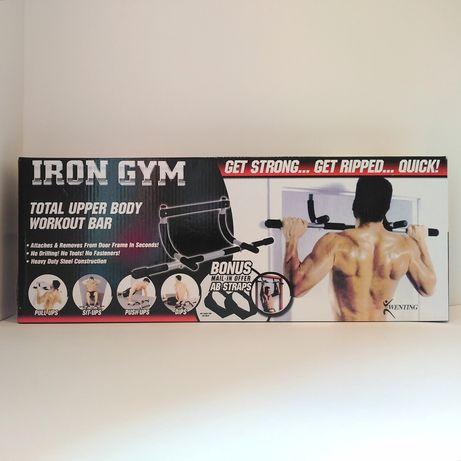 Iron Gym турник в дверной проем многофункциональный тренажер