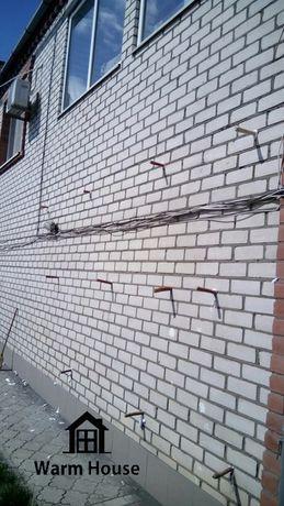 Утепление пеноизолом жидким пенопластом домов, стен, потолков
