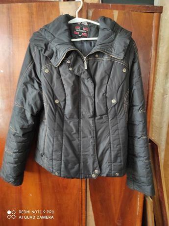 Осеняя теплая куртка