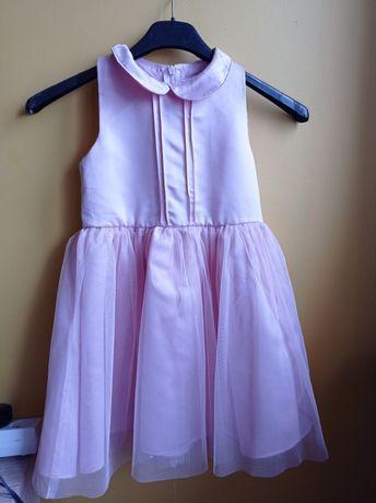 Tiulowa  sukienka rozmiar 122