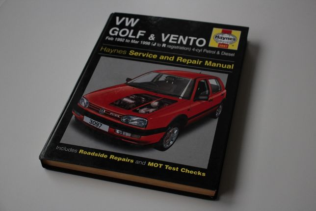 Instrukcja serwisowa Haynes 3097 Volkswagen Golf III & Vento