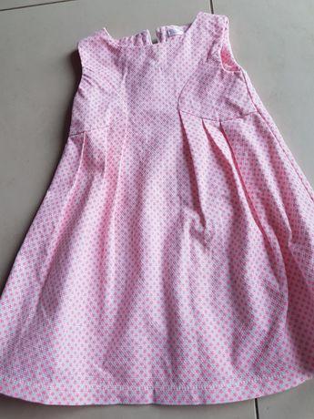 Rozm 86 sukienka dziewczęca