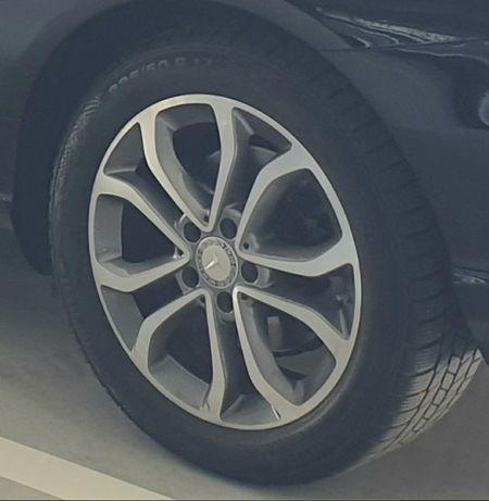 Jantes originais Mercedes 17 com pneus