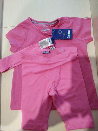 Футболочка,футболка,шорты,шортики,повязка.lupilu 86-92,12-18-24мес.