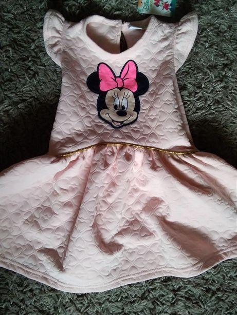 Sukienka Myszka Miki Minnie 92 nowa
