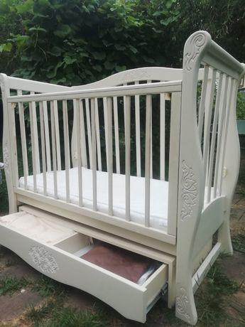Детская кровать+ матрас