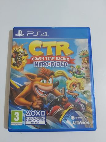 Gra ps4 CTR PLAYSTATION 4 crash team racing